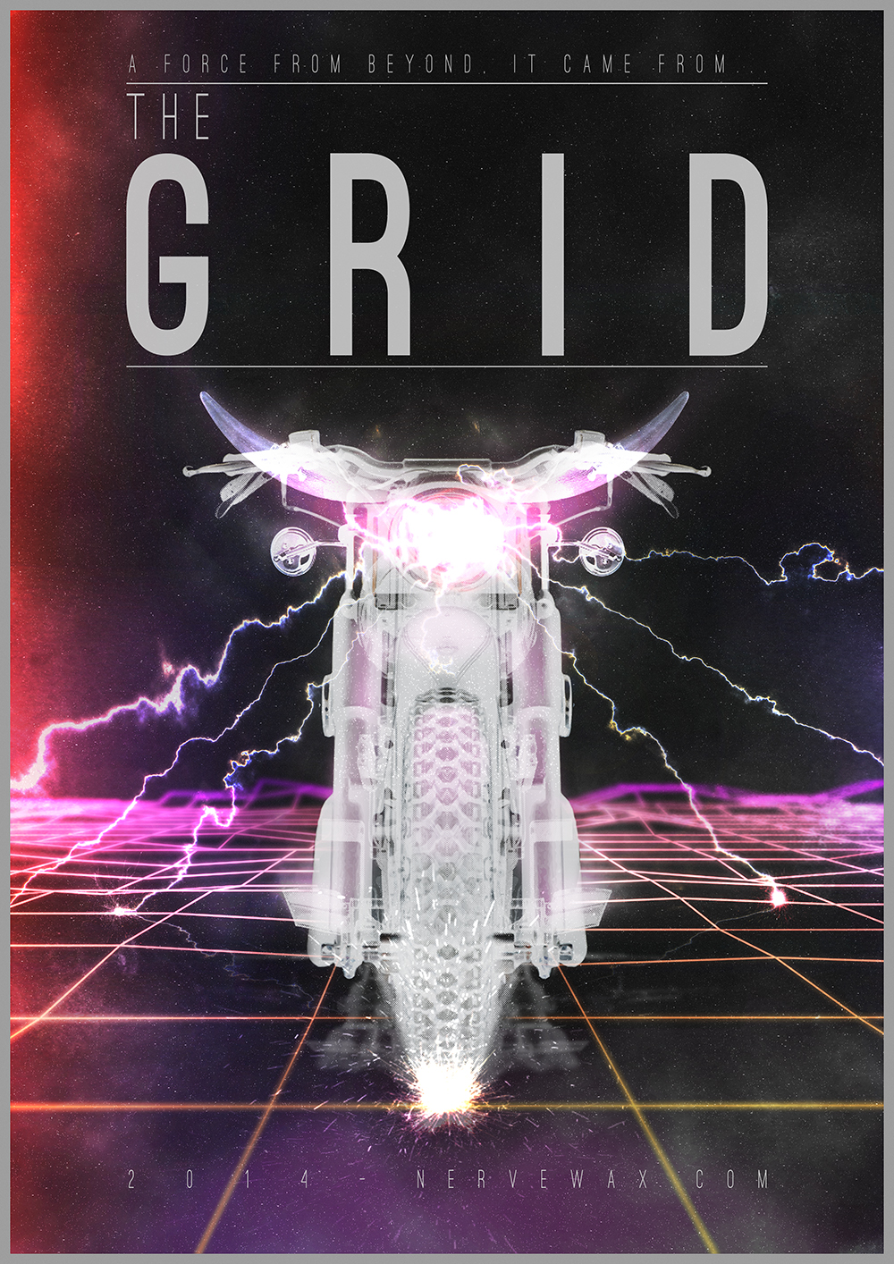 The Grid poster - nervewax