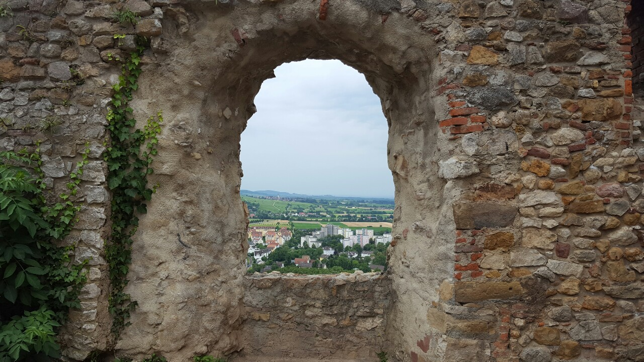 Staufen view from the ruin