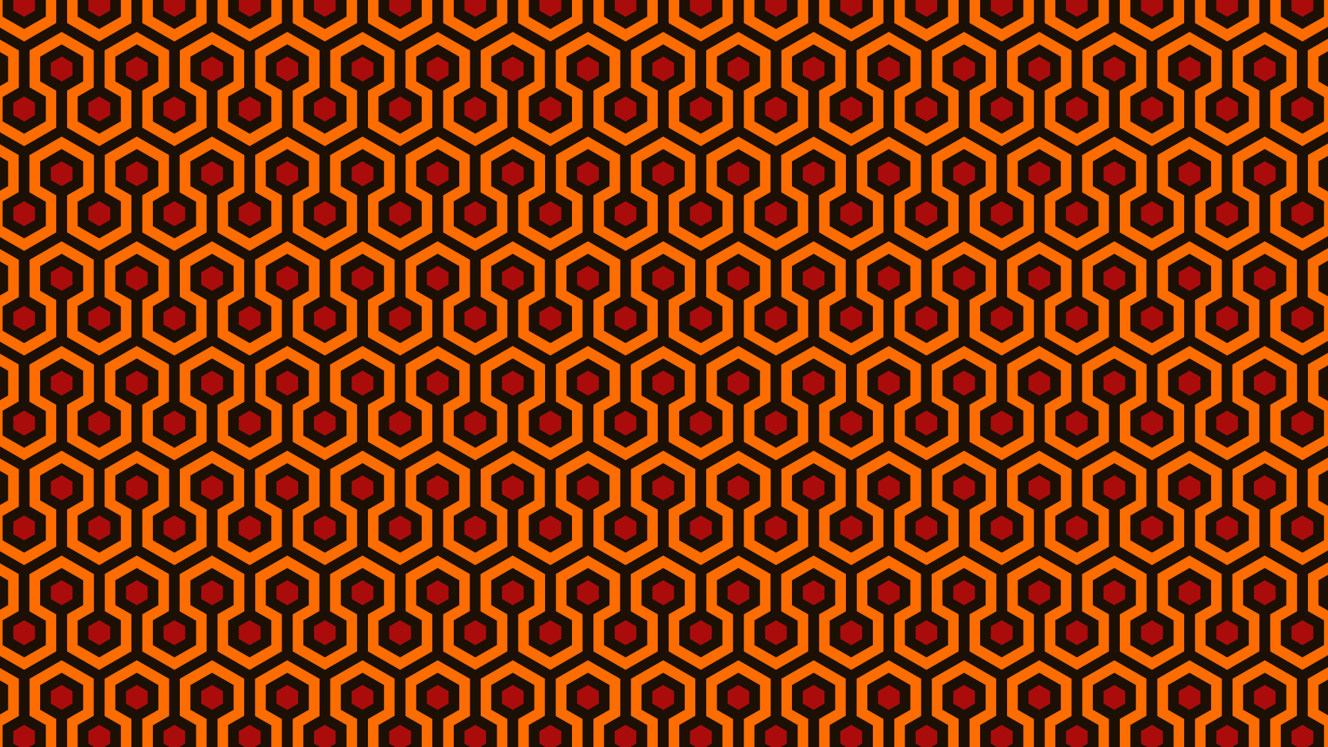 Overlook hotel carpet wallpaper